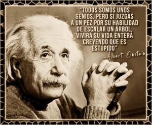 Einstein todos somos genios