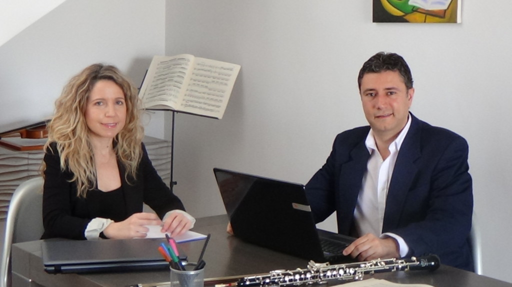 José Vte y Rebeca