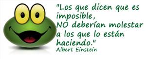 los que dicen que es imposible