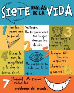 7 reglas para ser feliz