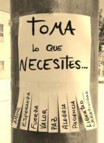 Toma lo que necesites…