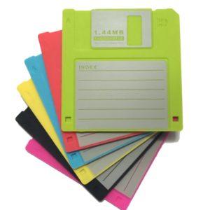 posavasos disquete