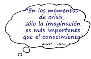 Einstein imaginación