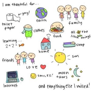 ser agradecidos
