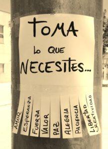 toma lo que necesites