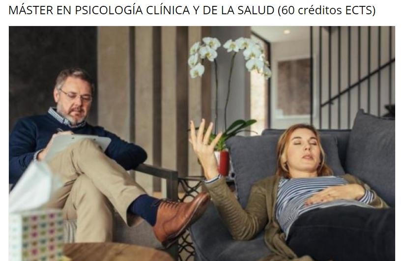 comprar master psicologia clinica y de la salud precio barato online